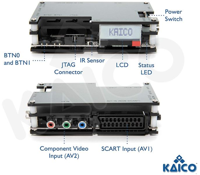 Kaico Open Source Scan Converter