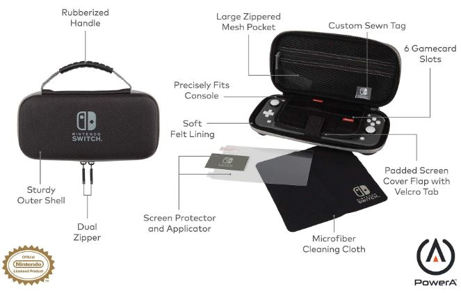 PowerA Protection Case Kit
