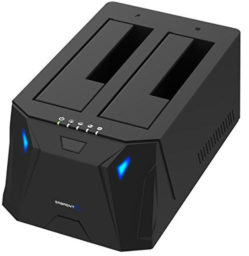 Sabrent USB 3 to SATA External Hard Drive Docking Station