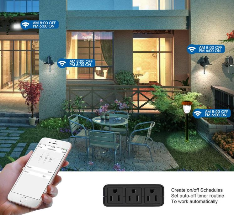 VAVOFO Outdoor Smart Outlet