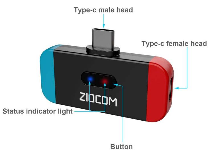 ZIOCOM Bluetooth Adapter