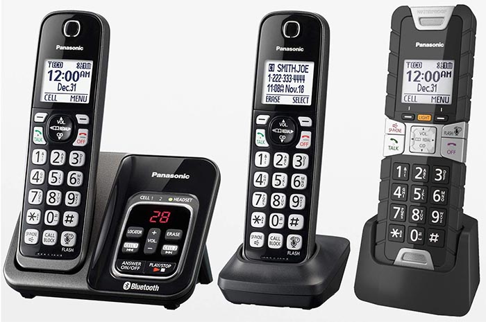 Panasonic Rugged Bluetooth Cordless Phone