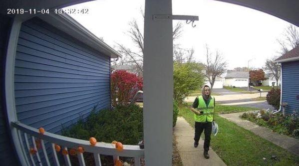 meco video doorbell sample