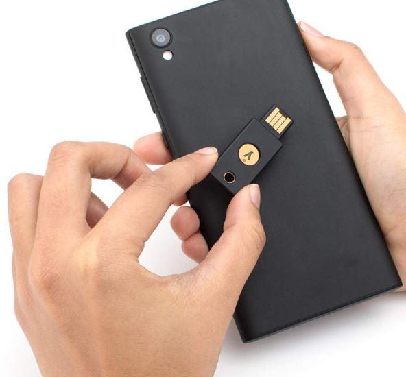 yubico authentication key