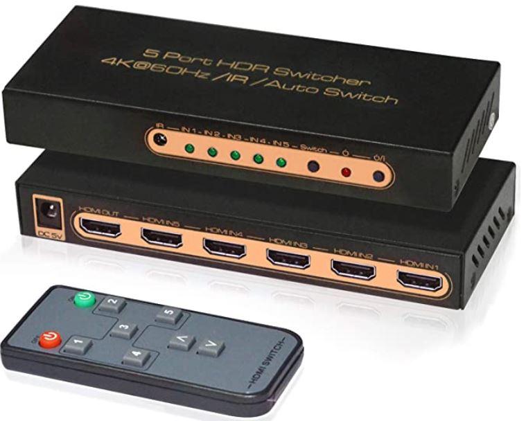 Awakelion HDMI Switcher