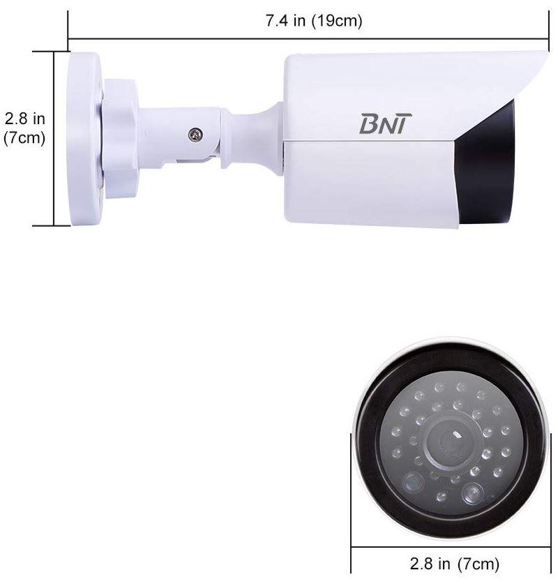 BNT Dummy Fake Security Cameras