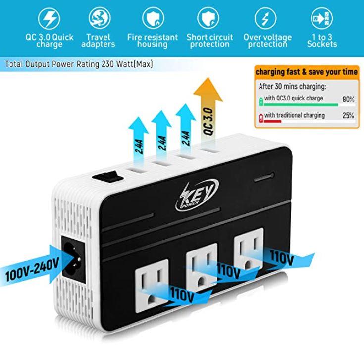 Key Power Voltage Converter