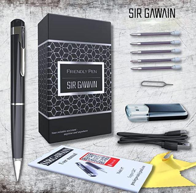 SIRGAWAIN Spy Pen Camera