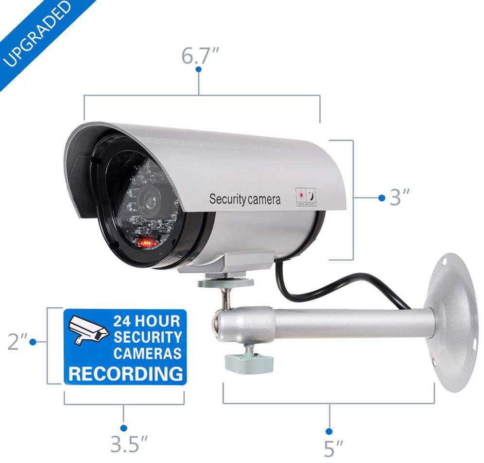 WALI Bullet Dummy Fake Surveillance Cameras