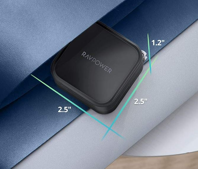 RAVPower 90W 2-Port USB-C Wall Charger