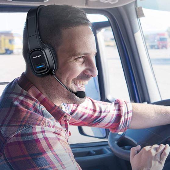 TECKNET Bluetooth Trucker Headset