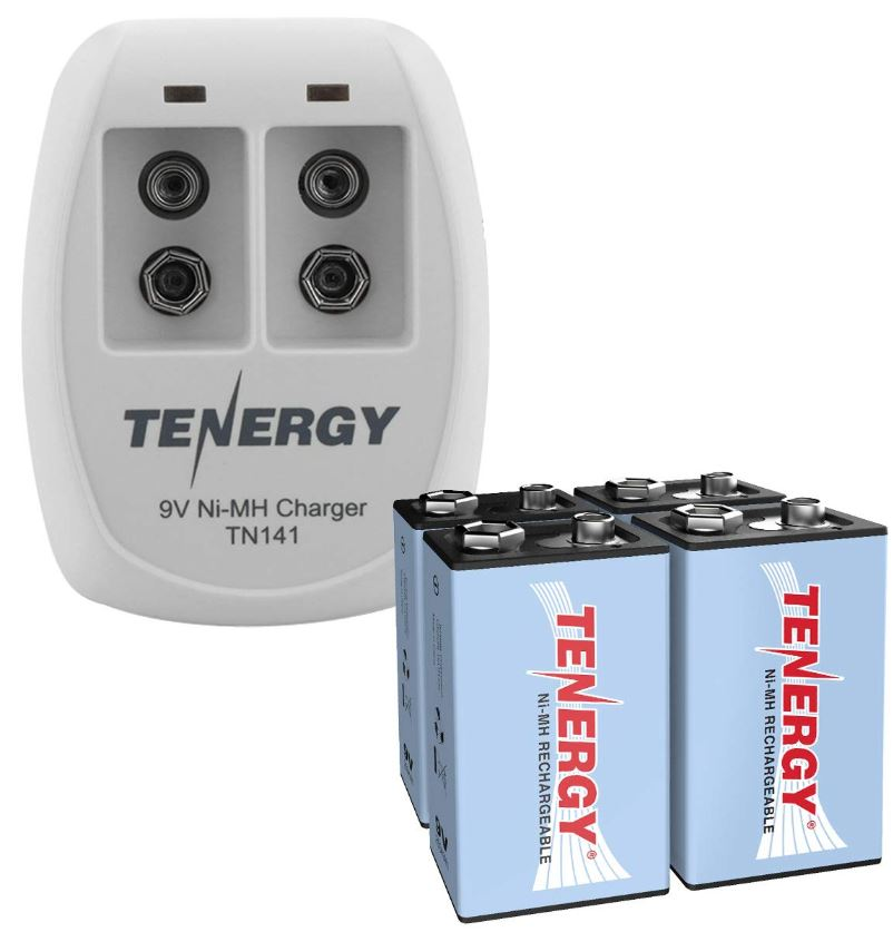 Tenergy 9V Rechargeable Battery