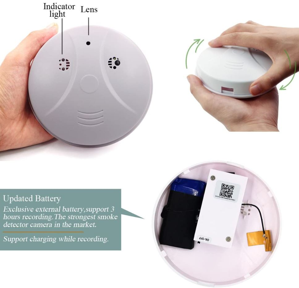 Guide To The Best Smoke Detector With Wifi Camera Hidden 2020