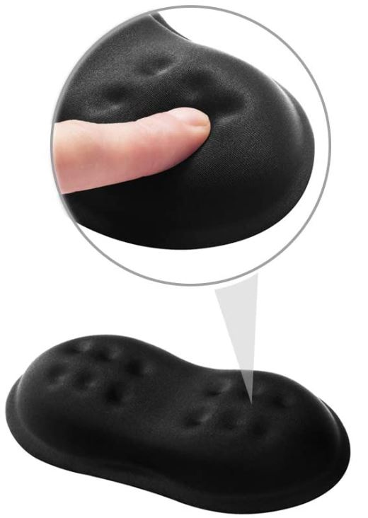 Vankey Soft Memory Foam Mouse Wrist Rest Support