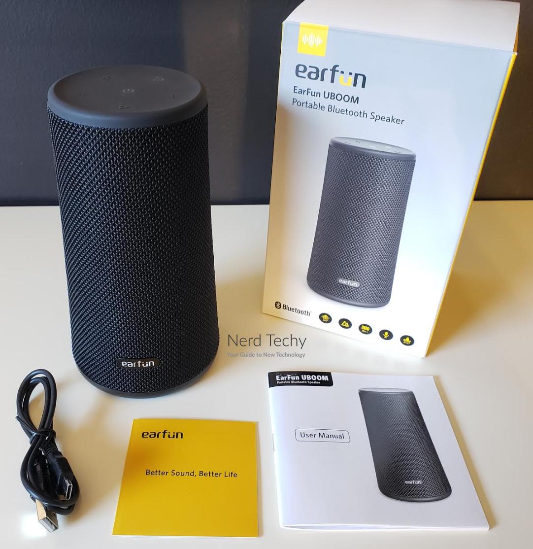 Earfun Uboom 24w Portable Bluetooth Speaker Review Nerd Techy