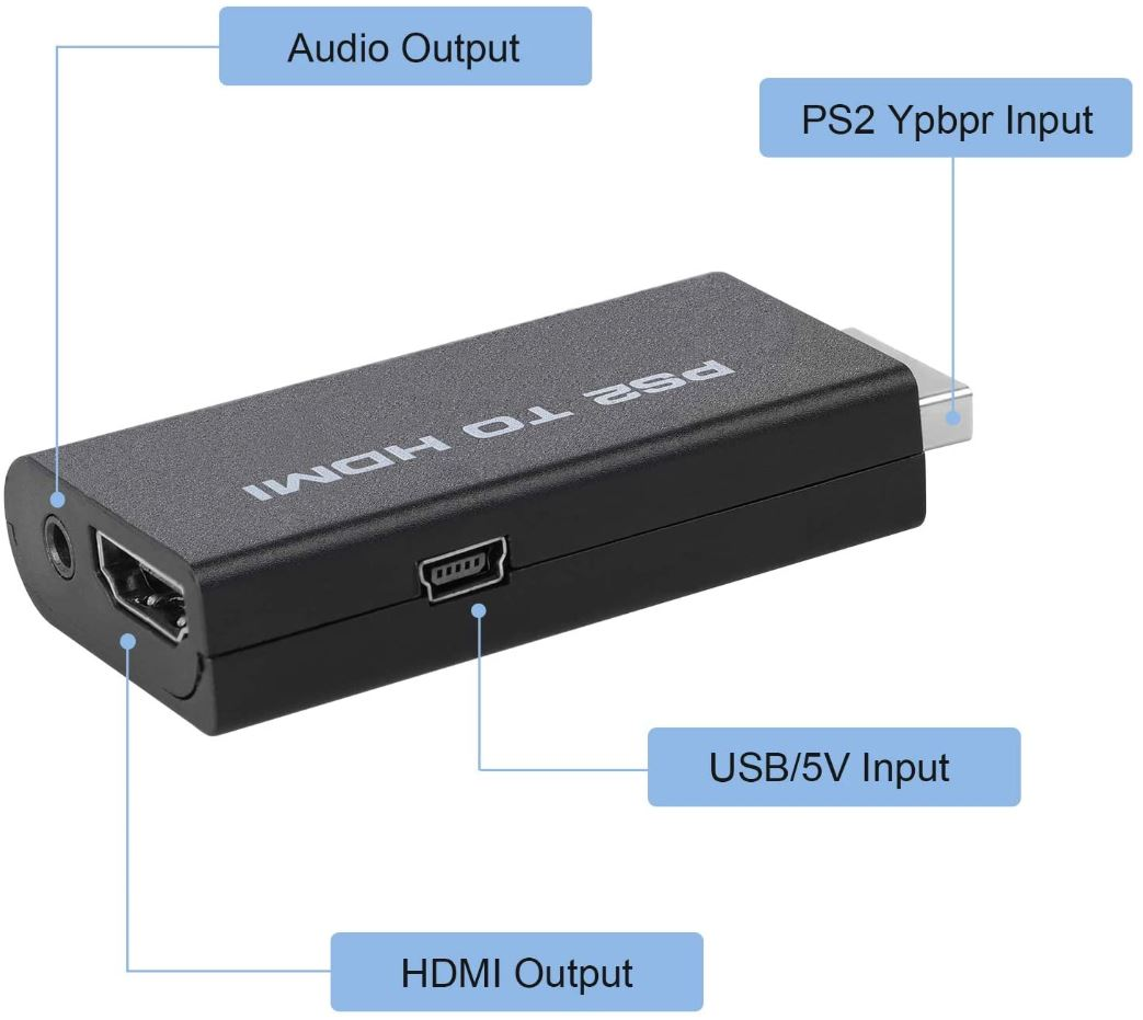 EEEKit PS2 to HDMI Converter