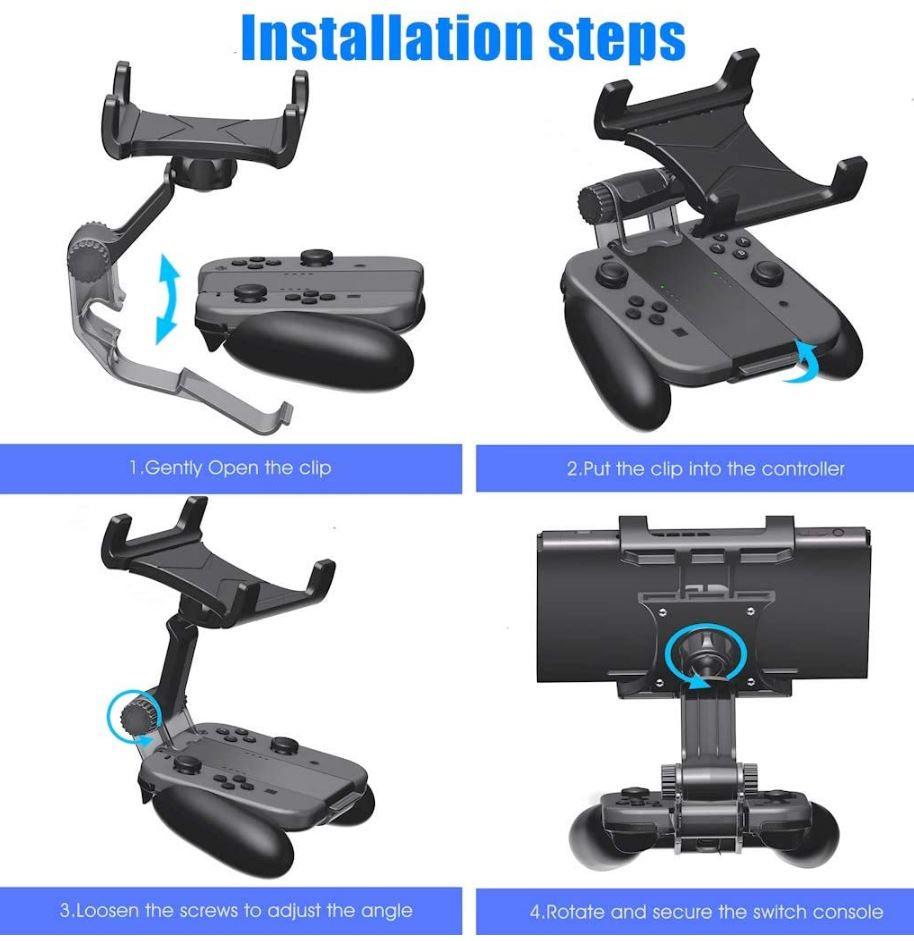 OIVO Joy-Con Grip Clip Mount