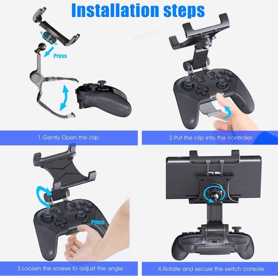 OIVO Switch Pro Controller Clip Mount