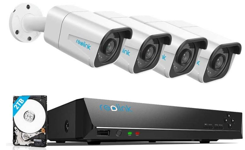Reolink 4K PoE Security Camera System