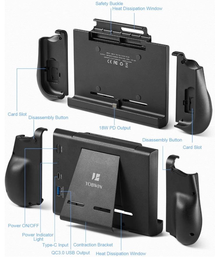 YOBWIN Battery Charger Case