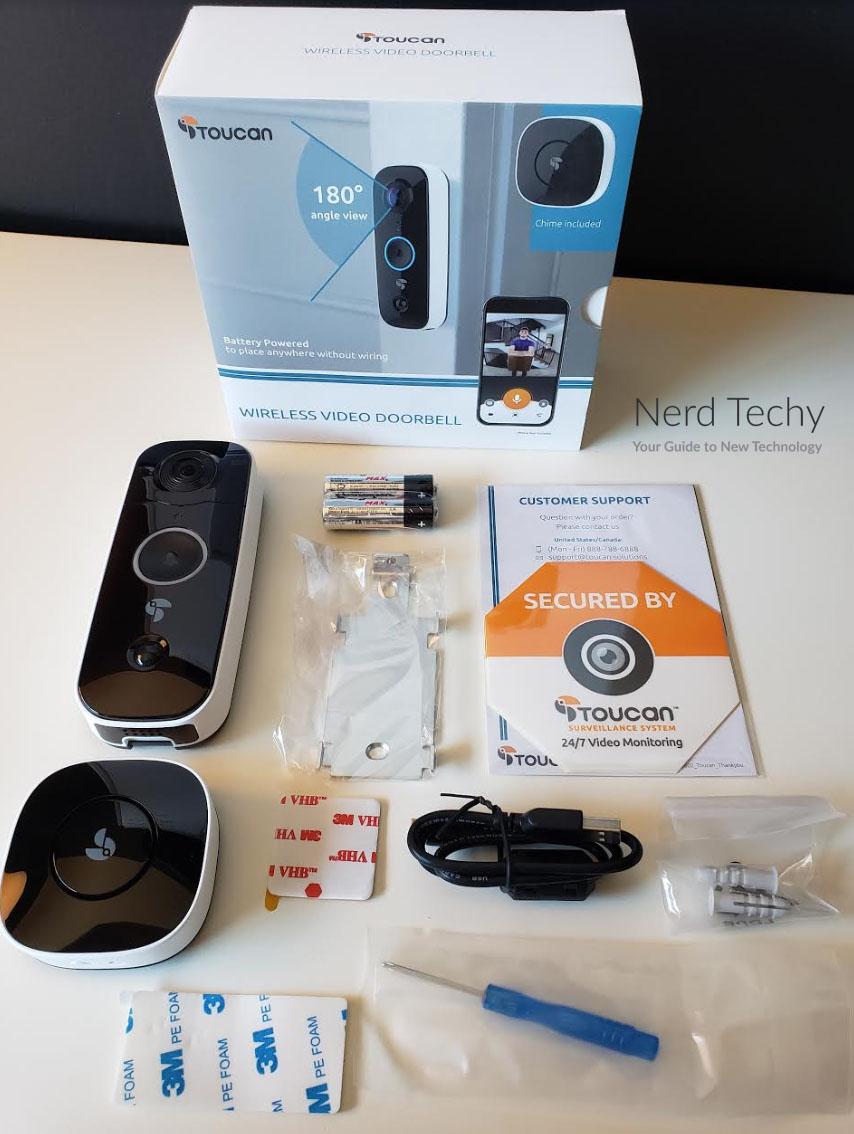 Toucan Wireless Video Doorbell
