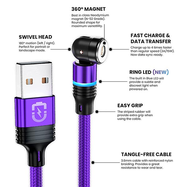 MAGNILINK Magnetic Charging Cables