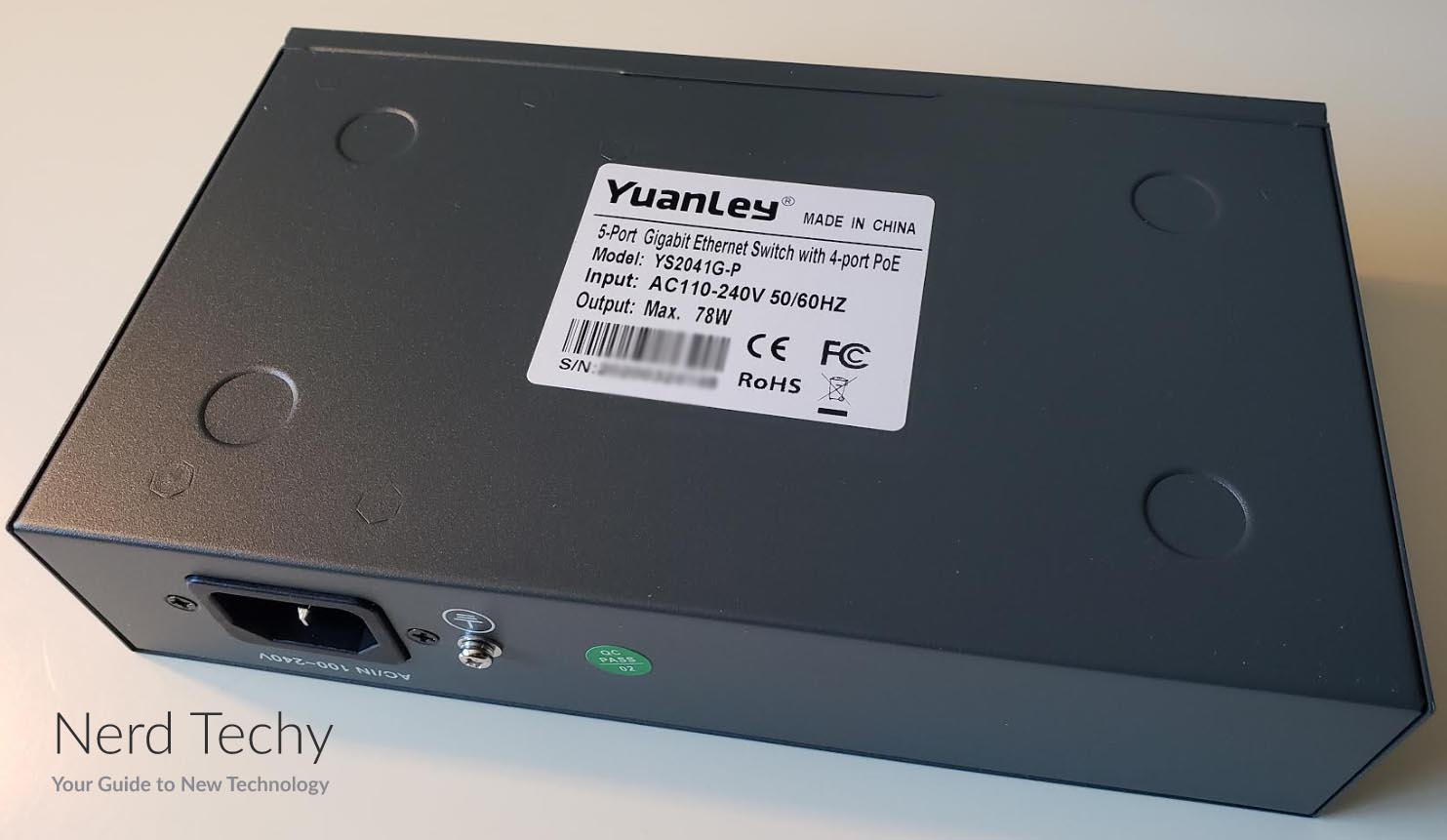 YuanLey Gigabit PoE Switch