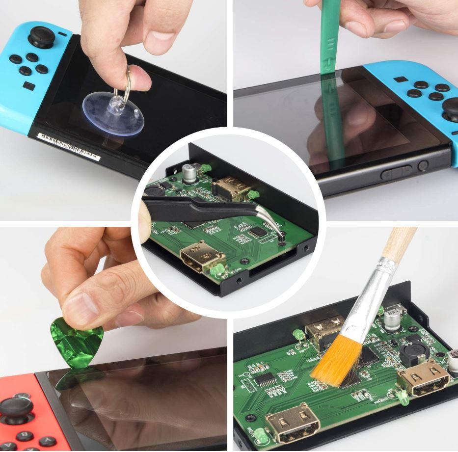 opening nintendo switch