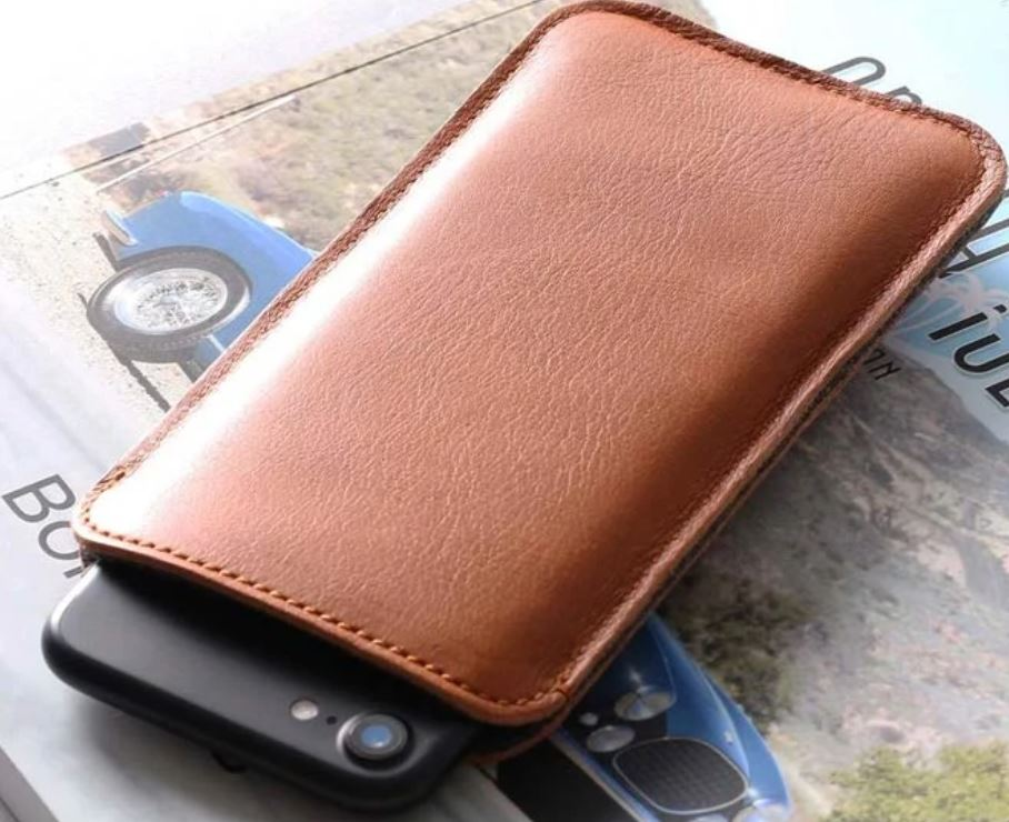 Harber London Slim Leather Smartphone Sleeve Case