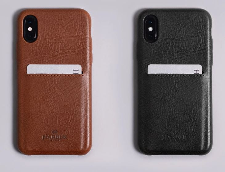 Harber London iPhone Case with Back Pocket