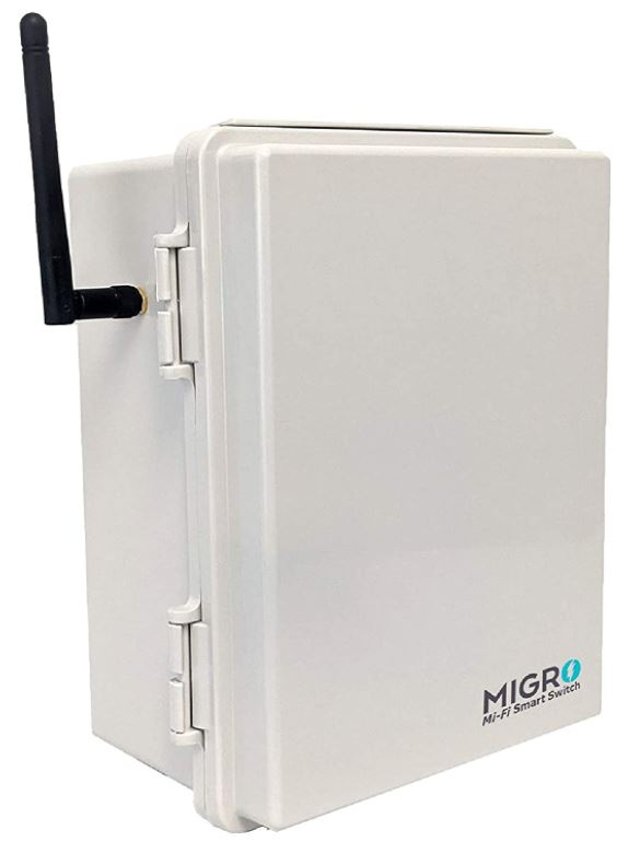 Migro Outdoor Smart Wi-Fi Outlet Box
