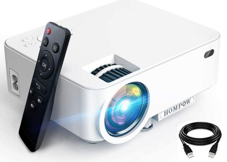 Hompow Mini Projector