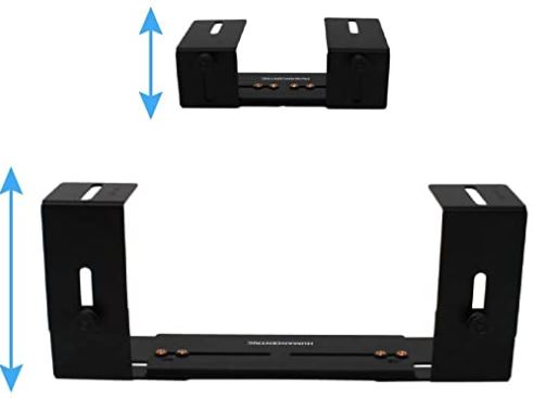 HumanCentric Cable Box Mount and Modem Mount