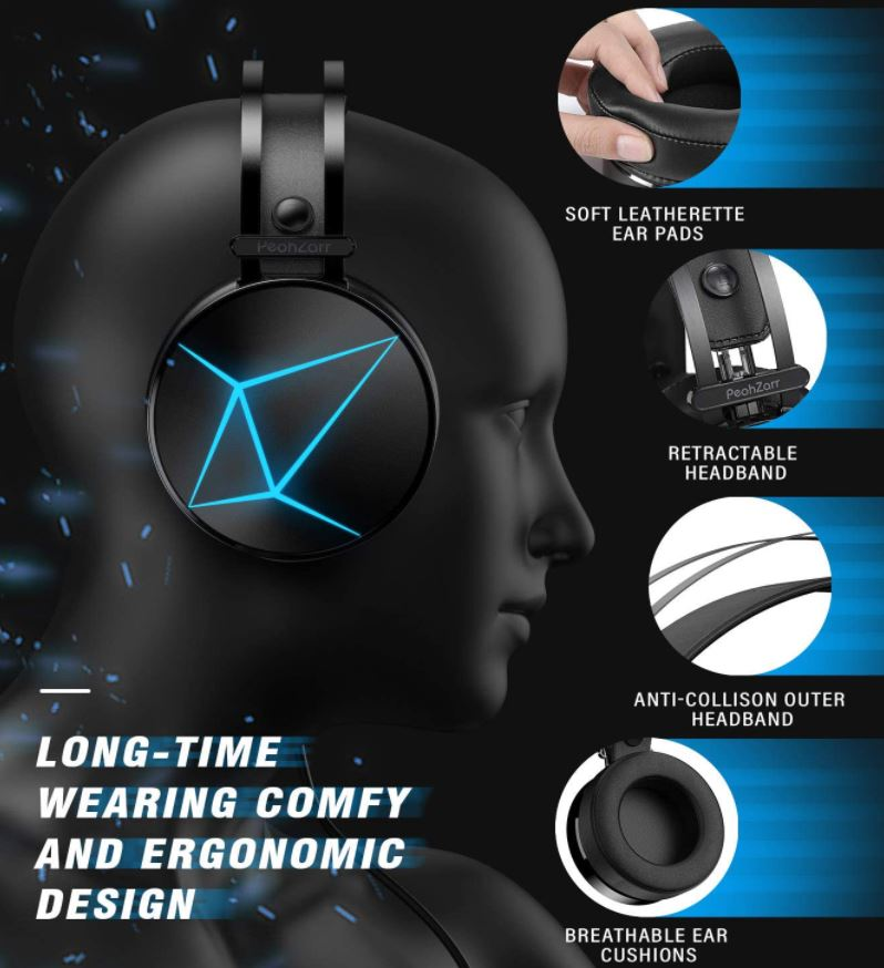 Peohzarr Gaming Headset