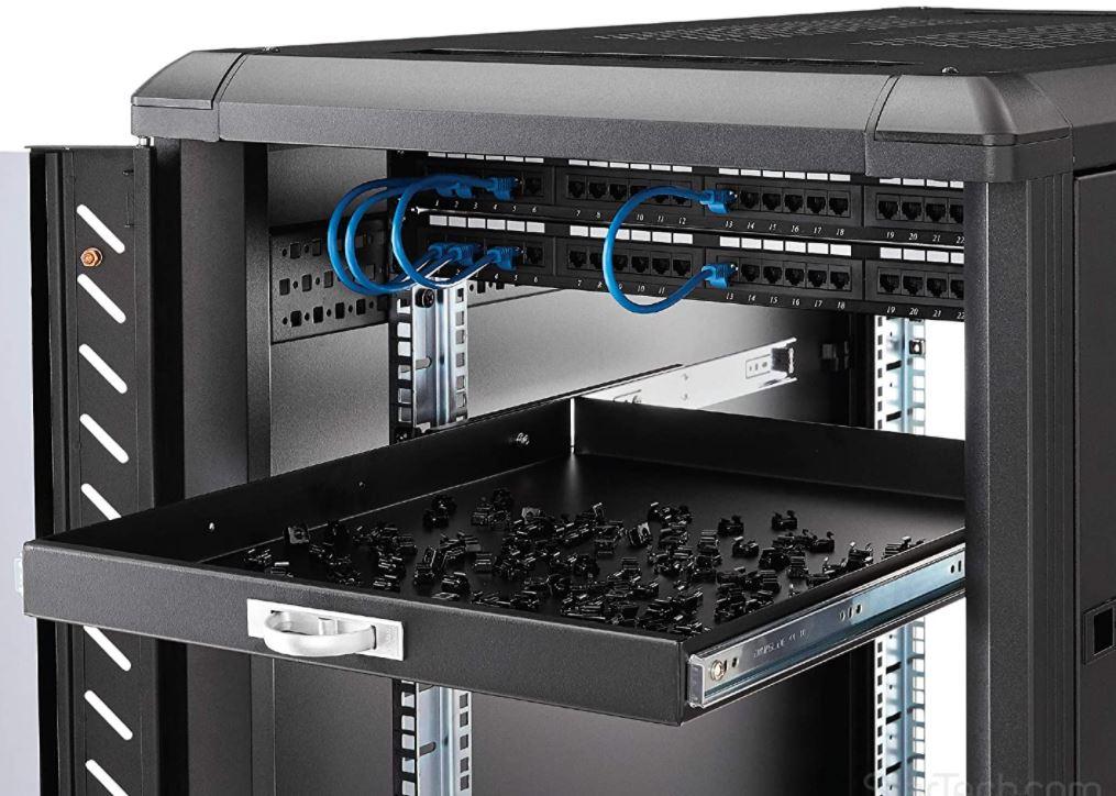 StarTech 1U Sliding Server Rack Mount Keyboard Shelf