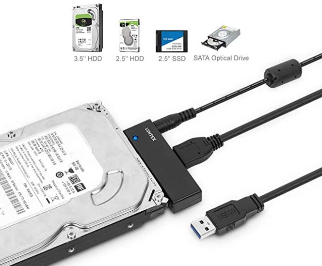 Unitek USB to SATA Adapter