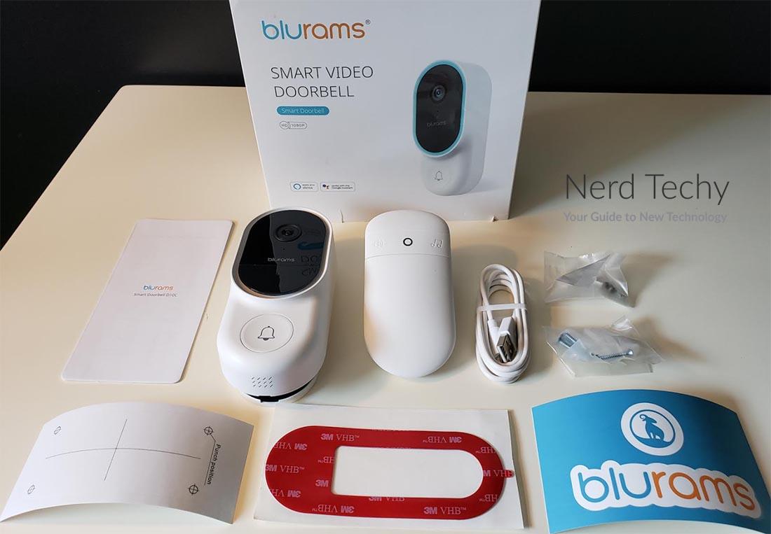 BluRams Smart Video Doorbell