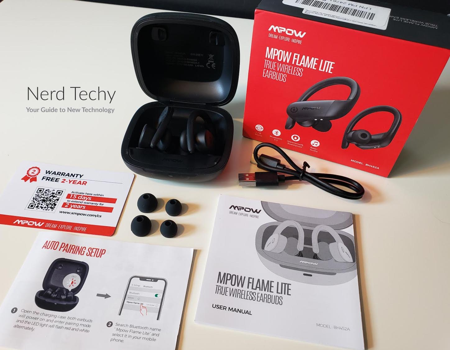 Testing & Review of the Mpow Flame Lite Wireless Earbuds - Nerd Techy