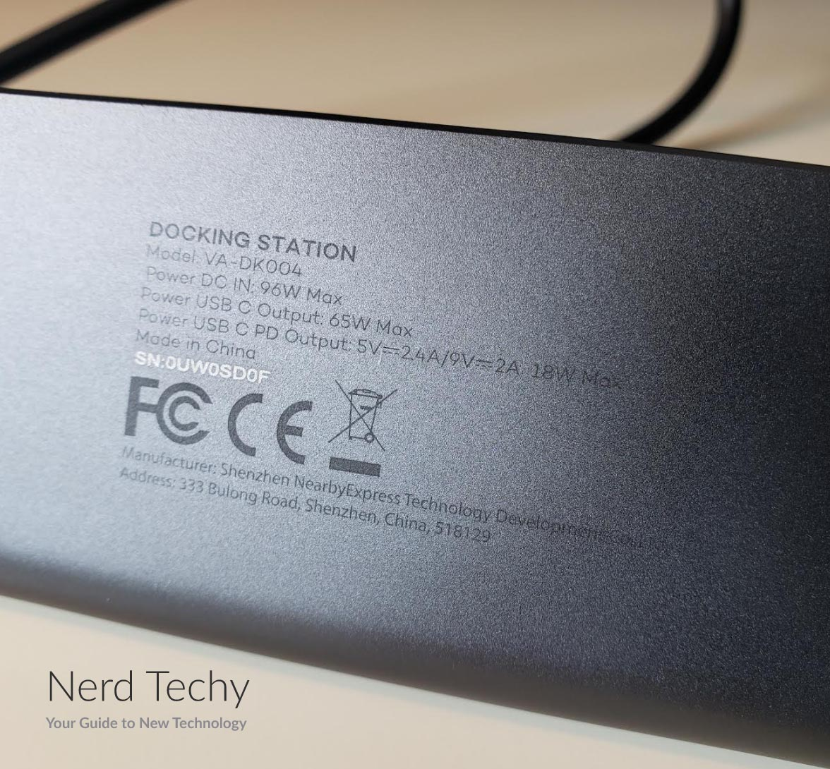 VAVA USB C Docking Station