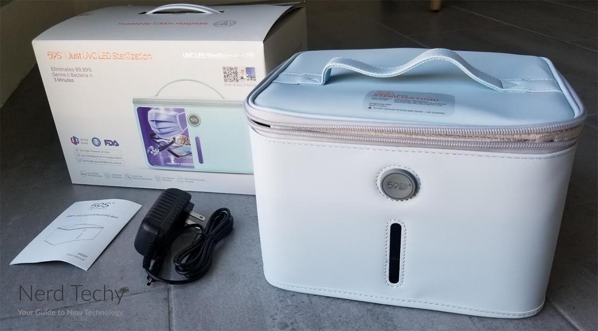 59S P55 UV Light Sanitizer Bag