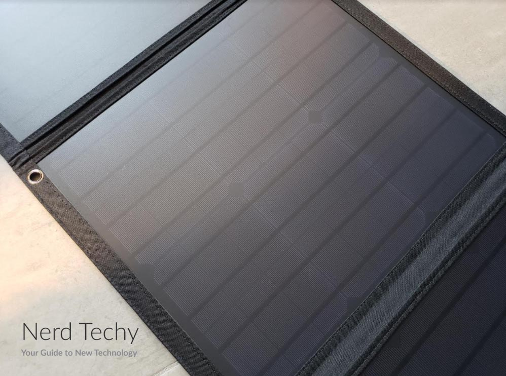 CHOETECH 80w Portable Solar Panel