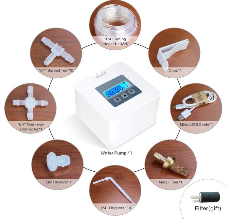 MoistenLand Micro Automatic Drip Irrigation Kit