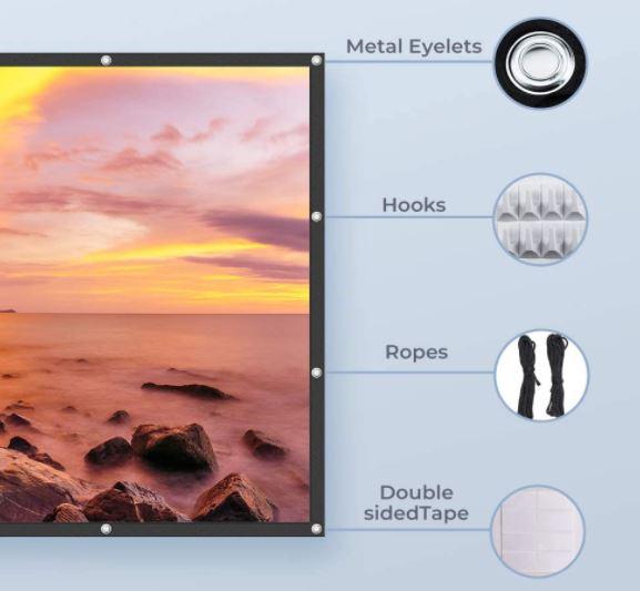 VANKYO StayTrue Projector Screen