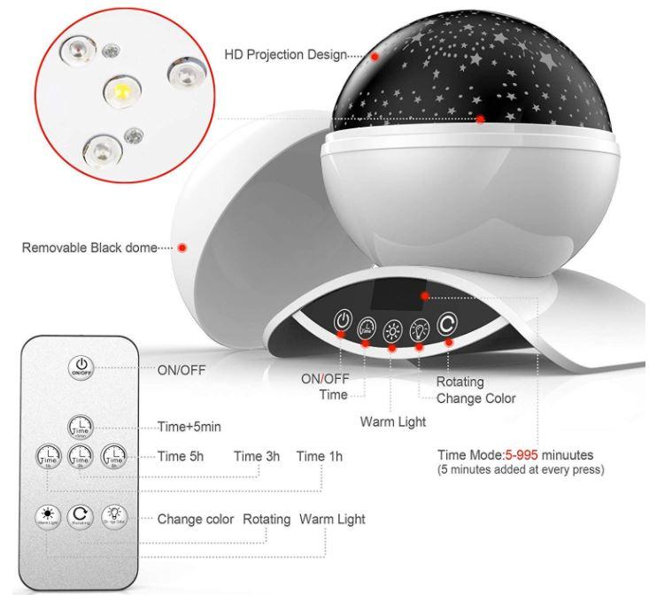 Elecbytes Star Projector
