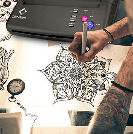 Life Basis Tattoo Stencil Transfer Machine