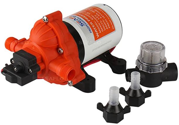 Seaflo Water Diaphragm Self Priming Pump