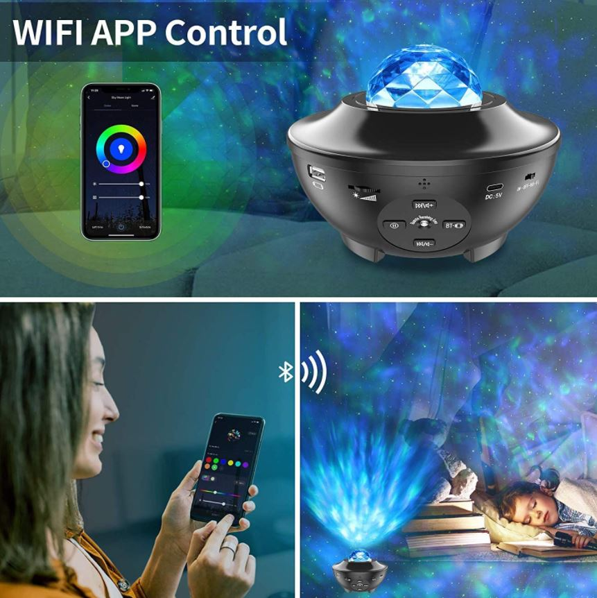 Yamla Smart Galaxy Light Projector