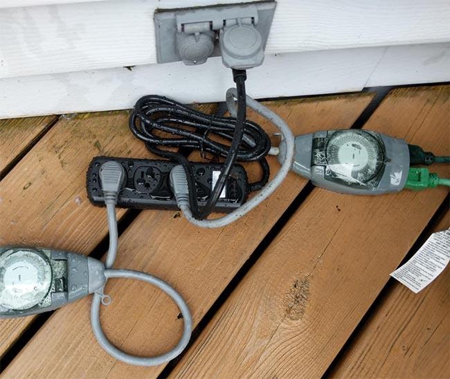 outdoor power strip