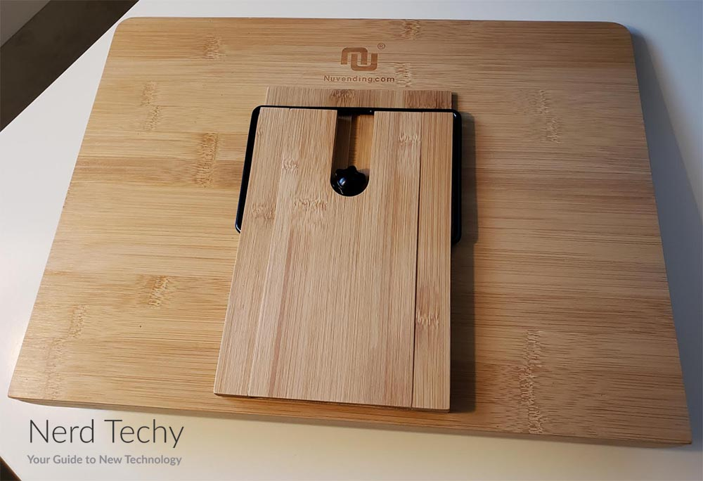 NUStand XL Bamboo Laptop Stand