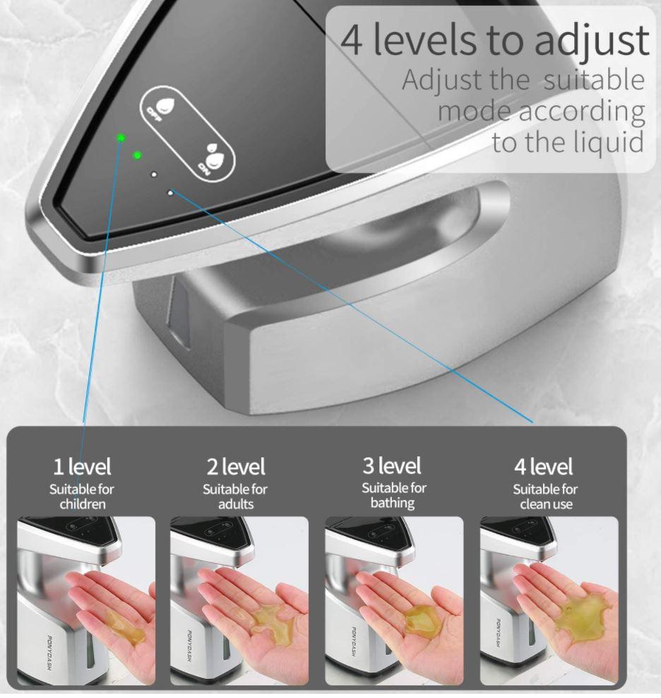 Ponydash Touchless Hand Sanitizer Dispenser